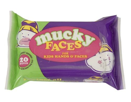 Mucky Faces Kids Wipes