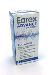 Earex Advance Ear Wax Removal Drops 1-6 (6 units include a counter display pack)