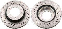 Brake Disc 911 (993) Front 304x32mm