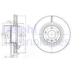Brake Disc Front 321x30mm