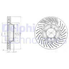 Brake Disc Front 330mmx24mm