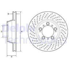 Brake Disc Rear 330x28mm