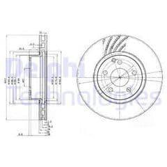 Brake Discs Front 312x28mm