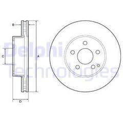 Brake Discs Front 295x28mm