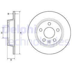 Brake Discs Front 239 x 10mm Solid