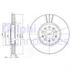 Brake Discs Front 288 x 25mm