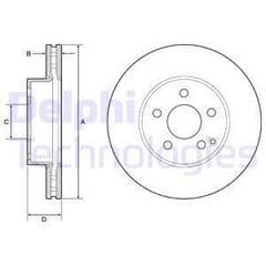 Brake Discs Front 295x28mm (Models With Non Drilled Discs)