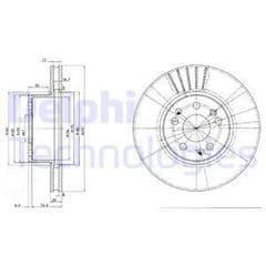 Brake Discs Front 310x28mm