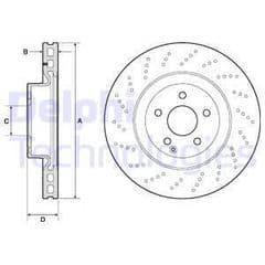 Brake Discs Front 344x32mm