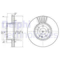 Brake Discs Front 320x30mm