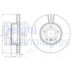 Brake Discs Front 324x30mm