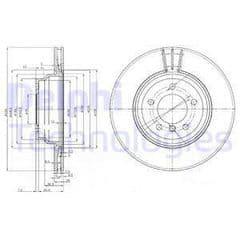 Brake Discs Front 330x24mm
