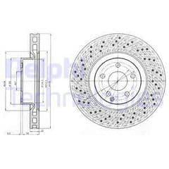 Brake Discs Front 335x32mm