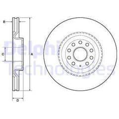 Brake Discs Front 345 x 30mm