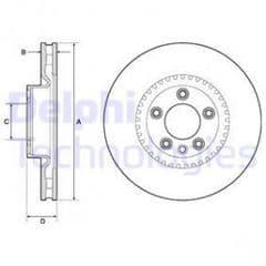 Brake Discs Front 348x30mm
