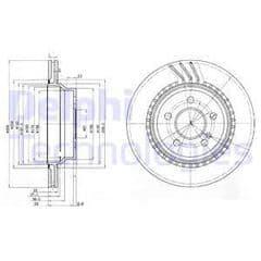 Brake Discs Rear 300x22mm