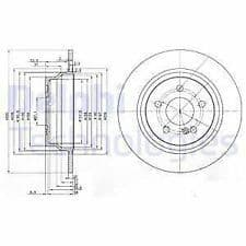 Brake Discs Rear 300x10mm