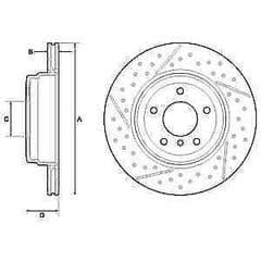 Brake Discs Rear 324x22mm