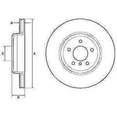 Brake Discs Rear 345x24mm