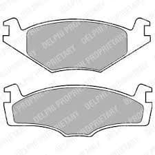 Brake Pads Front 239 x 12mm