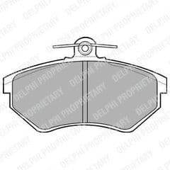 Brake Pads Front 256 x 20mm 1989+