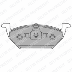 Brake Pads Front 256 x 22mm (No Wear Indicators)