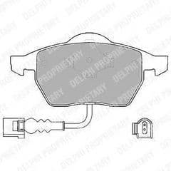 Brake Pads Front 288 x 25mm & 312 x 25mm