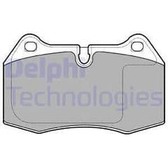 Brake Pads Front 316x28mm