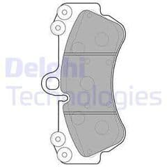 Brake Pads Front 330x32mm 1LC