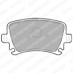 Brake Pads Rear 260 x 12mm & 286 x 12mm 310 x 22mm