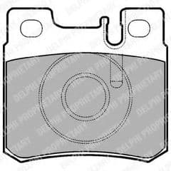 Brake Pads Rear 278x9.2mm