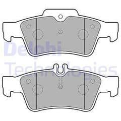 Brake Pads Rear 300mm With Solid or Vented Discs