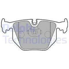 Brake Pads Rear 324x12mm