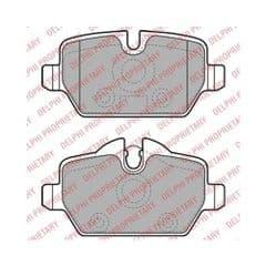 Brake Pads Rear for 296mm brakes