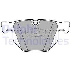 Brake Pads Rear for 336mm brakes