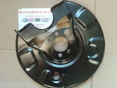 Disc Backing Plate Rear