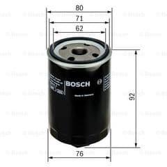 Oil Filter 1.6 16v & 1.6 FSI