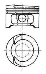 Piston 2.0 TDi 16v BKD