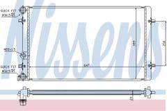 Radiator 1.8T 150 180 & 1.9 TDi (Excluding ARL)