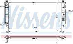 Radiator 2.5TDI ACV AJT AYC Long Nose