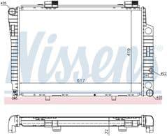 Radiator C180 C200 C230 Manual Gearbox