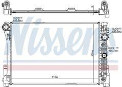 Radiator C180K C200CDI C200K C230 C250 C300 C350 Automatic Gearbox