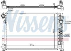 Radiator C180K C200CDi C280 Manual Gearbox