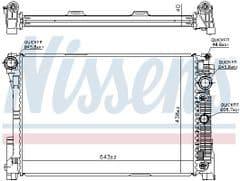 Radiator E200,  E250, E200CDi, E220CDi, E250CDi Manual Gearbox