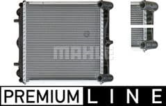 Radiator Right 986 Boxster & BoxsterS