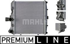 Radiator Right 997 Carrera 2/4/4S & GT3