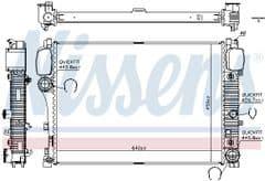 Radiator S250CDi, S320CDi, S350CDi, S420CDi, S450CDi