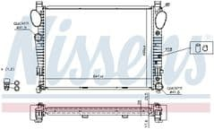 Radiator S280, S320, S350