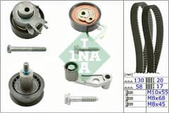 Timing Belt Kit 1.4 16v & 1.6 16v