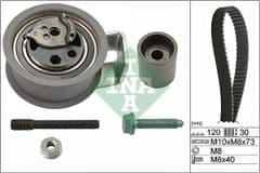 Timing Belt Kit 1.9 TDi PD up to 2002